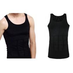 Мъжка тениска отслабване М черна