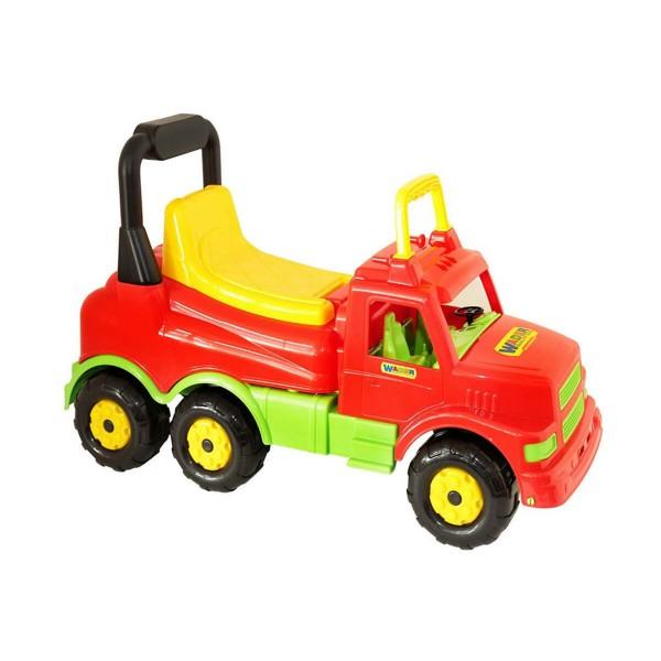 Камион Проходилка червено и зелено
