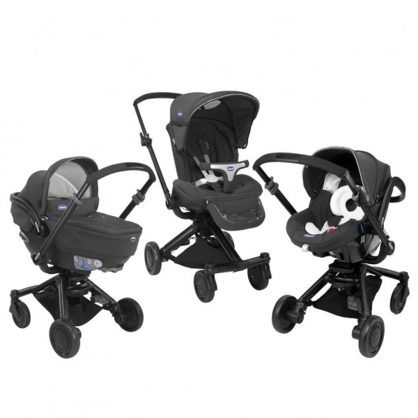 Детска Количка Trio I-move Black