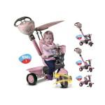 Smart Trike Детска триколка 4 в 1 Dream розова