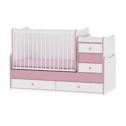 Легло Maxi Plus бяло и розово