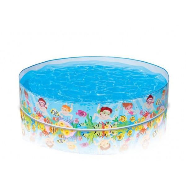 Детски басейн с твърд борд