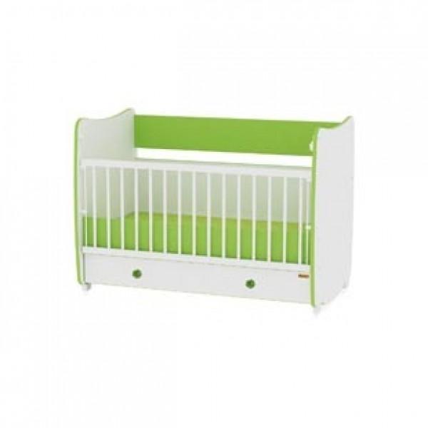 Легло Dream бяло и зелено