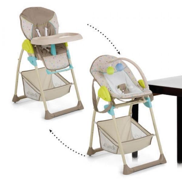 Столче за хранене Sitn Relax Multi Dots