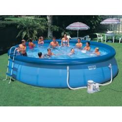 Семеен Изи сет басейн с филтърна помпа