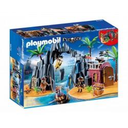 Плеймобил Пиратски остров на съкровищата