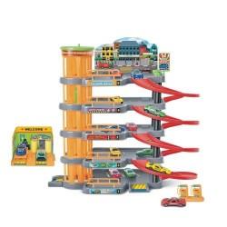 Skyline Garage Паркинг Гараж 5 нива и 4 коли