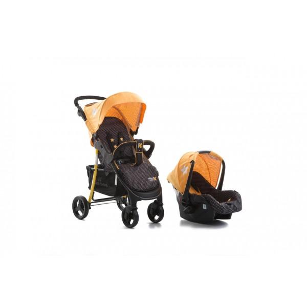 Бебешка количка Verona Yellow