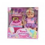 Bambolina Кукла Nena с фризьорски комплект