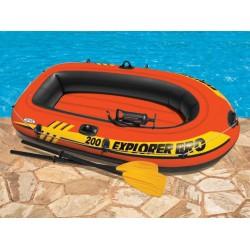 Лодка Експлорър 200 с гребла и помпа