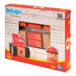 Beluga Дървена играчка пожарна