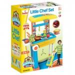 Buba Little Chef Детска кухня, Куфар, Жълта/Синя