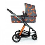 Cosatto Giggle 3 CHARCOAL MISTER FOX бебешка количка