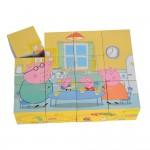 Eichhorn Peppa Pig Дървени кубчета