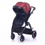 Lorelli Детска количка ADRIA BLACK&RED