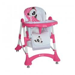 Столче за хранене Elite Pink Panda