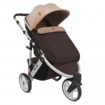 Бебешка количка Calibra 3 Brown&Beige