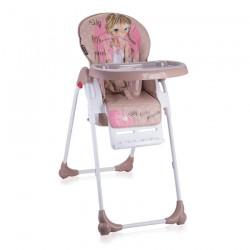 Столче за хранене OLIVER Beige&Rose Princess