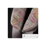 Столче за кола Glider Softy черно и розово