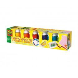 Сес Текстилни бои 6 цвята