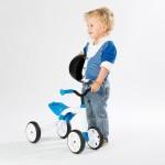 Quadie играчка за яздене синя