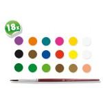 Сес водни бои 17 цвята