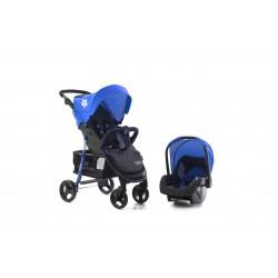 Kikkaboo Бебешка количка Verona Blue