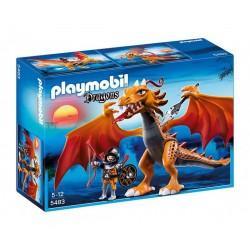 Плеймобил дракон с копие