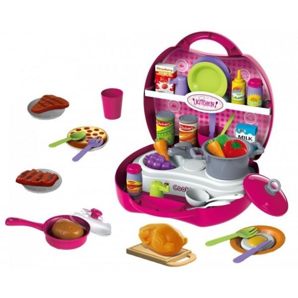 Мини кухненски комплект с прибори