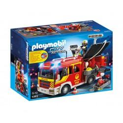 Противопожарна кола със светлини и звук