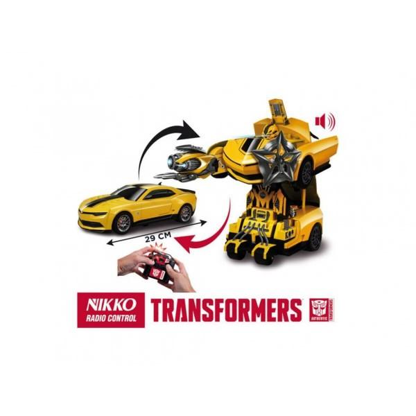 Нико трансформърс кола робот Бъмбълбий