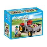 Плеймобил трактор за прибиране на реколта