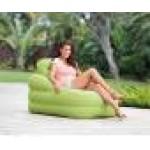 Надуваем фотьойл зелен цвят