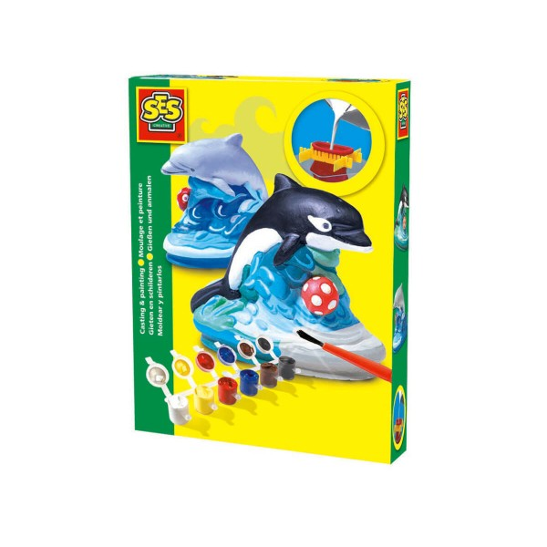 Сес Коплект за отливки и оцветяване делфин