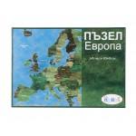 Пъзел карта Европа - 345 части
