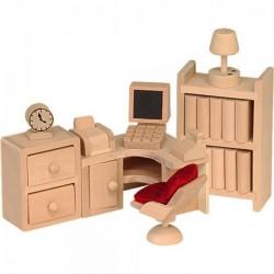 Beluga мебели за къща за кукли кабинет