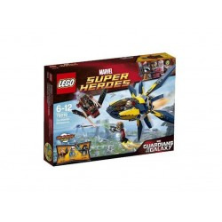 Лего Супер Хироус Пазители на галактиката старбластер