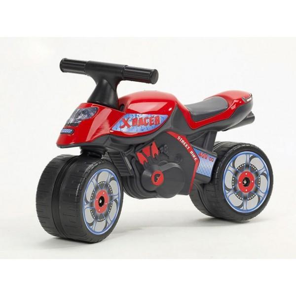 Мотор екс рейсър червен