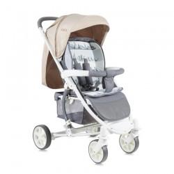 Детска количка S300 Grey&Beige Cities