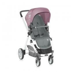 Бебешка количка Evo 2в1 Grey&Pink