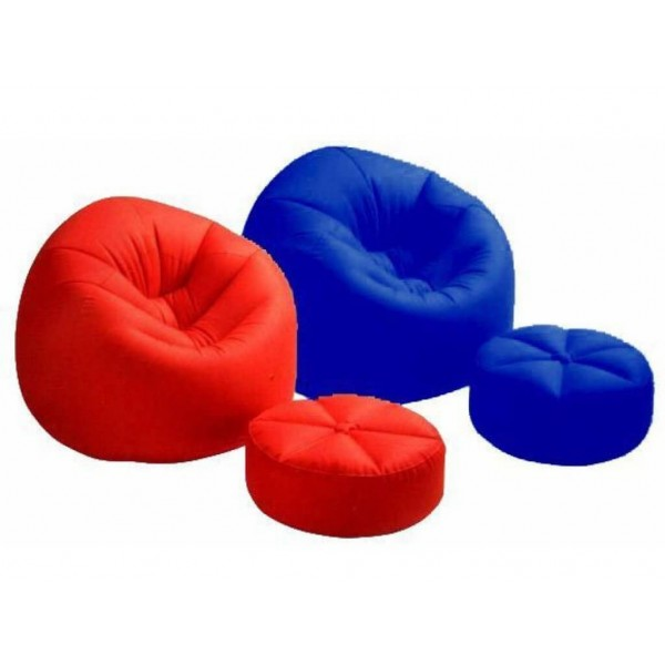 Комплект Ергономичен стол и табуретка