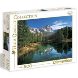 Clementoni 500ч. Пъзел Blue Lake Cervino