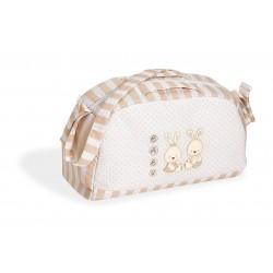 Мултифункционална чанта за количка Две зайчета