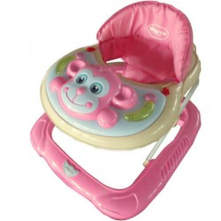 Kikkaboo Проходилка Monkey Light Pink