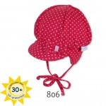 Бебешка шапка с UV защита 30+