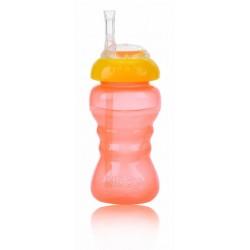 Nuby Неразливаща чаша 2в1 Flex straw