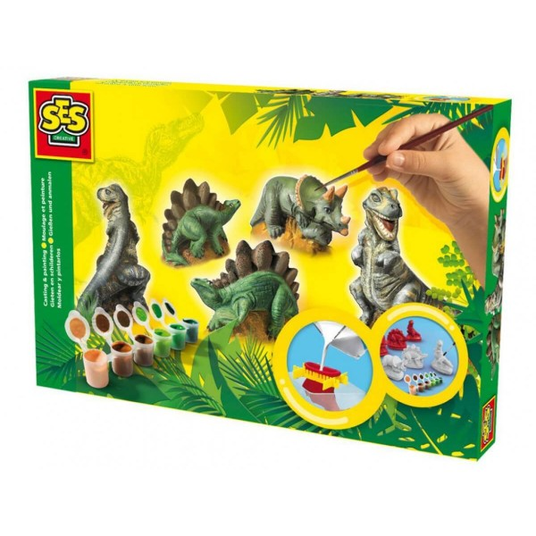 Сес отливки динозаври