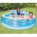 Интекс Семеен надуваем басейн със седалка