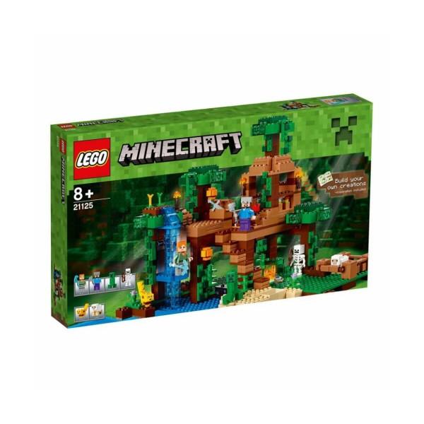 Лего Майнкрафт Дървесна къща в джунглата
