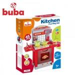 Buba Superior голяма детска кухня червена